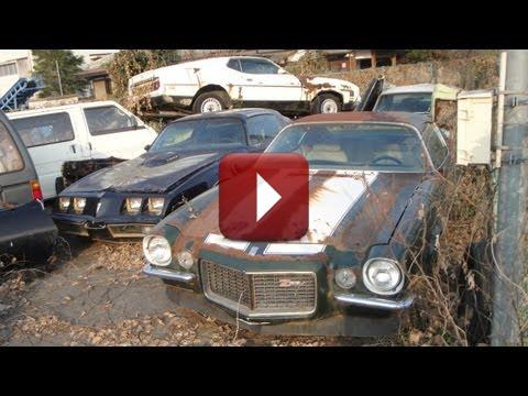 abandoned in japan an american muscle car graveyard muscle car. Black Bedroom Furniture Sets. Home Design Ideas