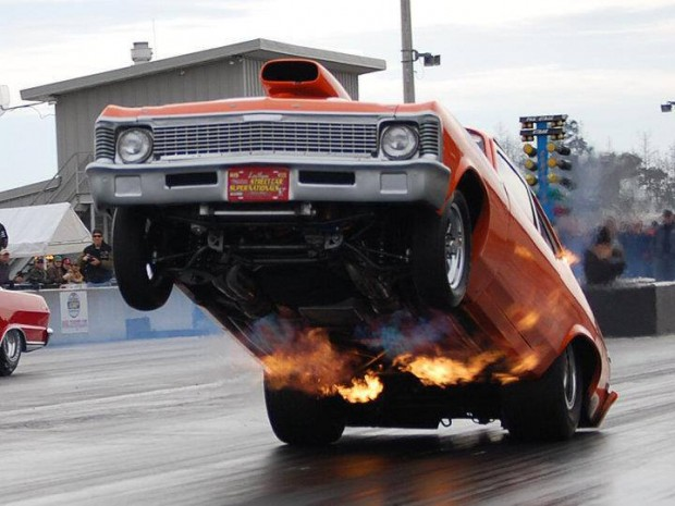 Drag Racing Cars Wheelie Drag racing