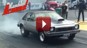 10 Second Chevy Monza Street Legal Drag Car