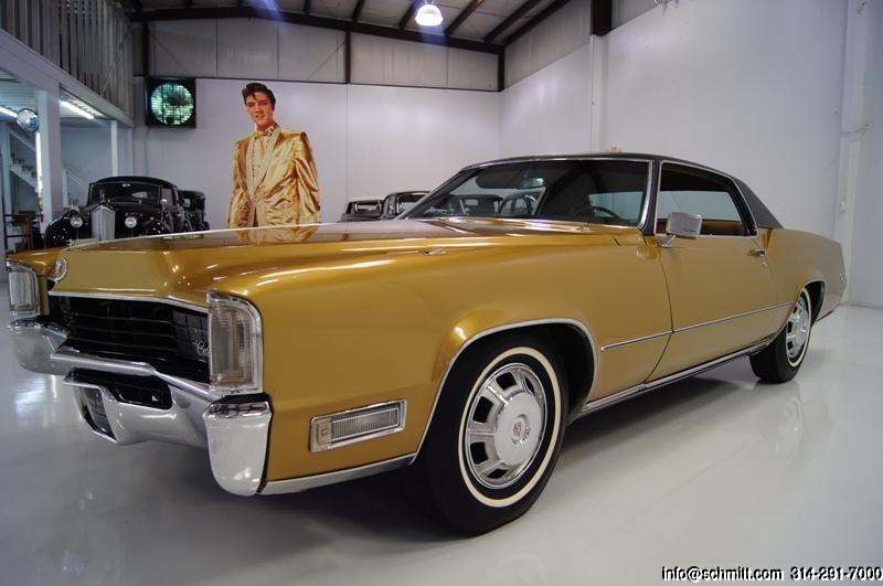 Cadillac Eldorado 2015 >> Elvis Presley 1968 Cadillac Eldorado Coupe - Muscle Car