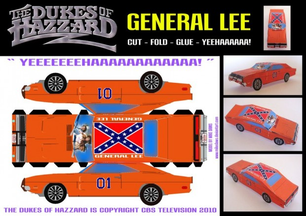 The_General_Lee_by_mikedaws