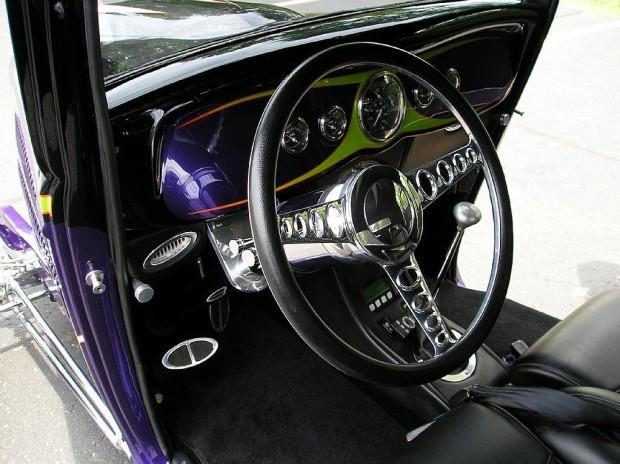 1934 Ford 3-Window Street Rod-12