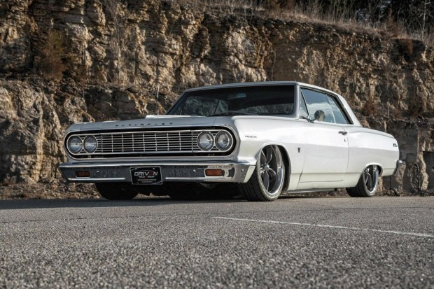 1964 Chevrolet Chevelle Pro Touring Street Rod Air ride suspension-12