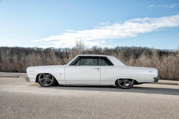 1964 Chevrolet Chevelle Pro Touring Street Rod Air ride suspension-17