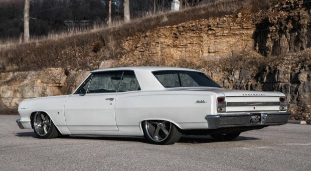 1964 Chevrolet Chevelle Pro Touring Street Rod Air ride suspension-18