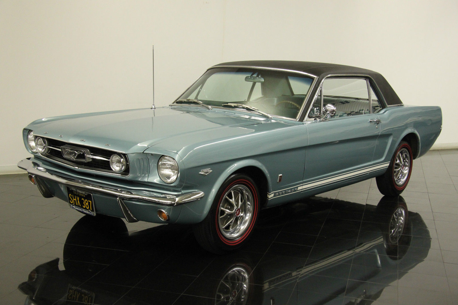 1966 Ford Mustang GT K code Coupe -122