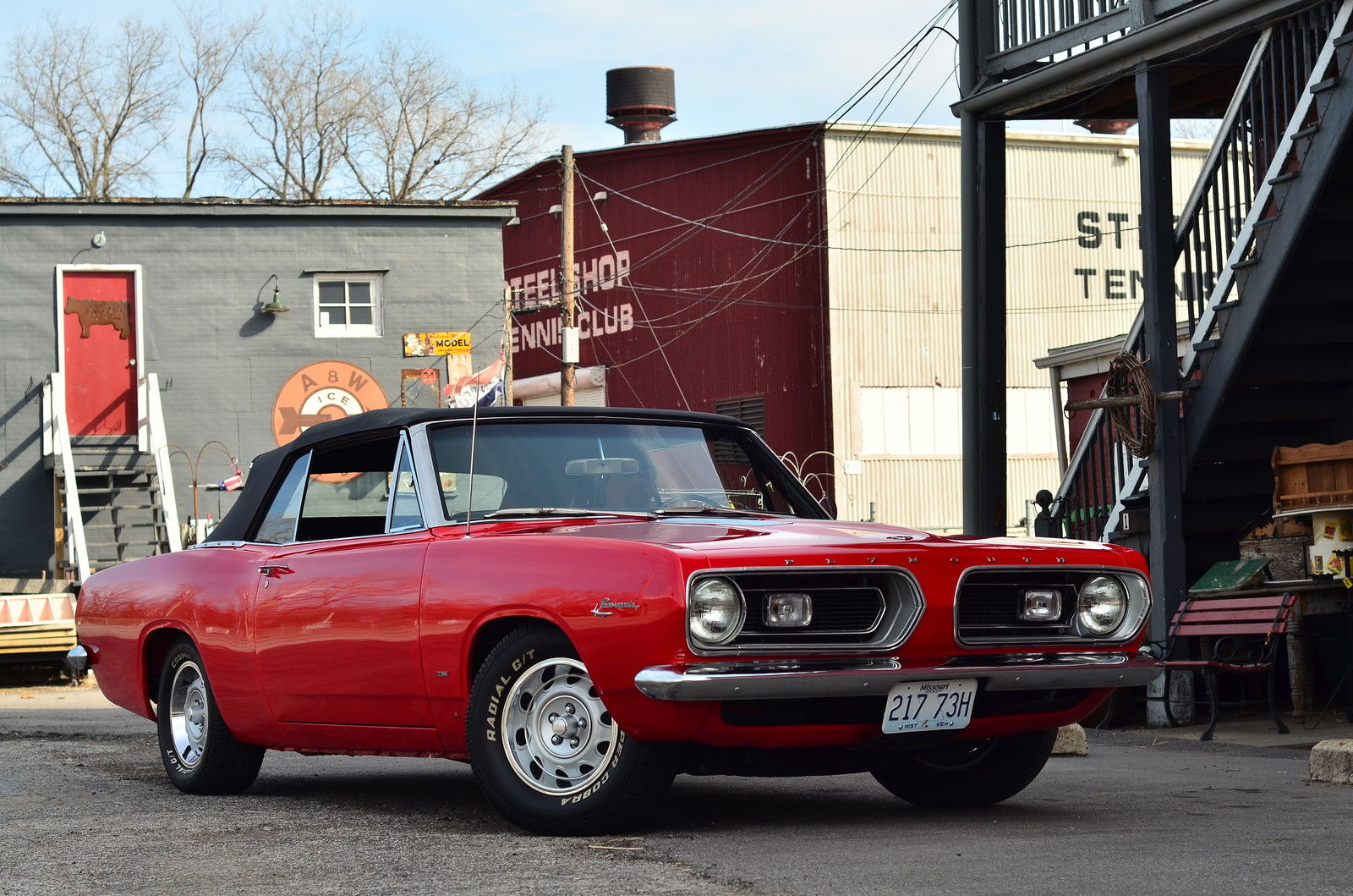 1967 Plymouth Barracuda CONVERTIBLE2