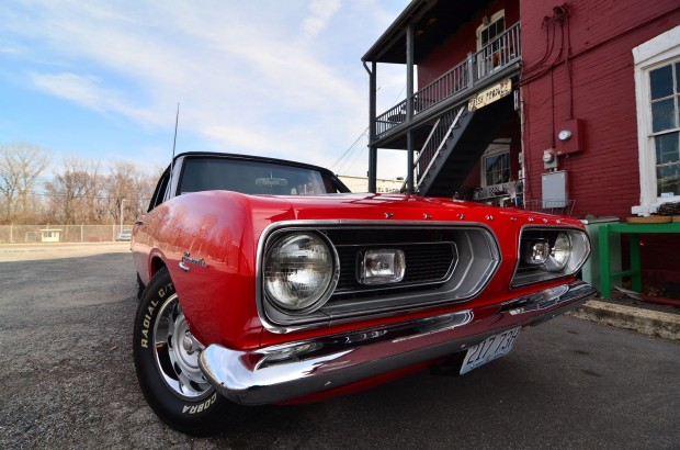 1967 Plymouth Barracuda CONVERTIBLE4