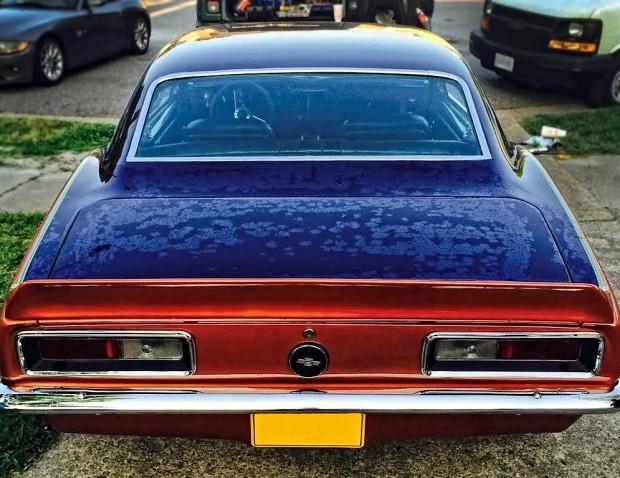 1967 Camaro Resto Mod Show Car6