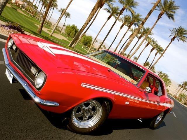1968 CAMARO PRO STREET SHOW CAR 502 CID 640HP3