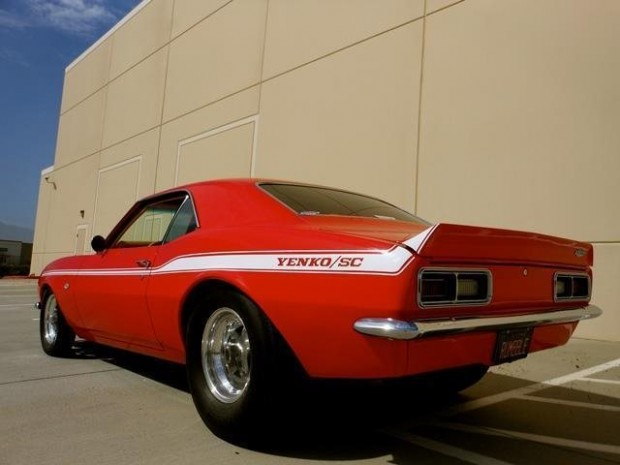 1968 CAMARO PRO STREET SHOW CAR 502 CID 640HP6