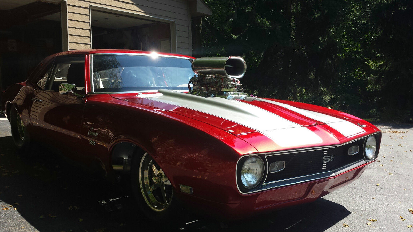 1968 Chevrolet Camaro SS - Muscle Car