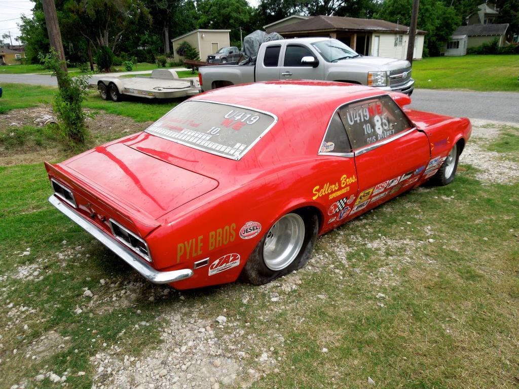 1968 Chevrolet Camaro Tubbed Drag Car 402 Small Block Turbo 400 ...