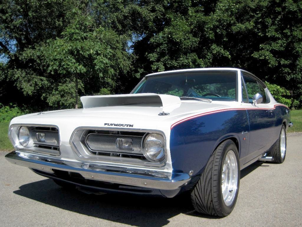 1968 Plymouth Barracuda Fastback - Muscle Car