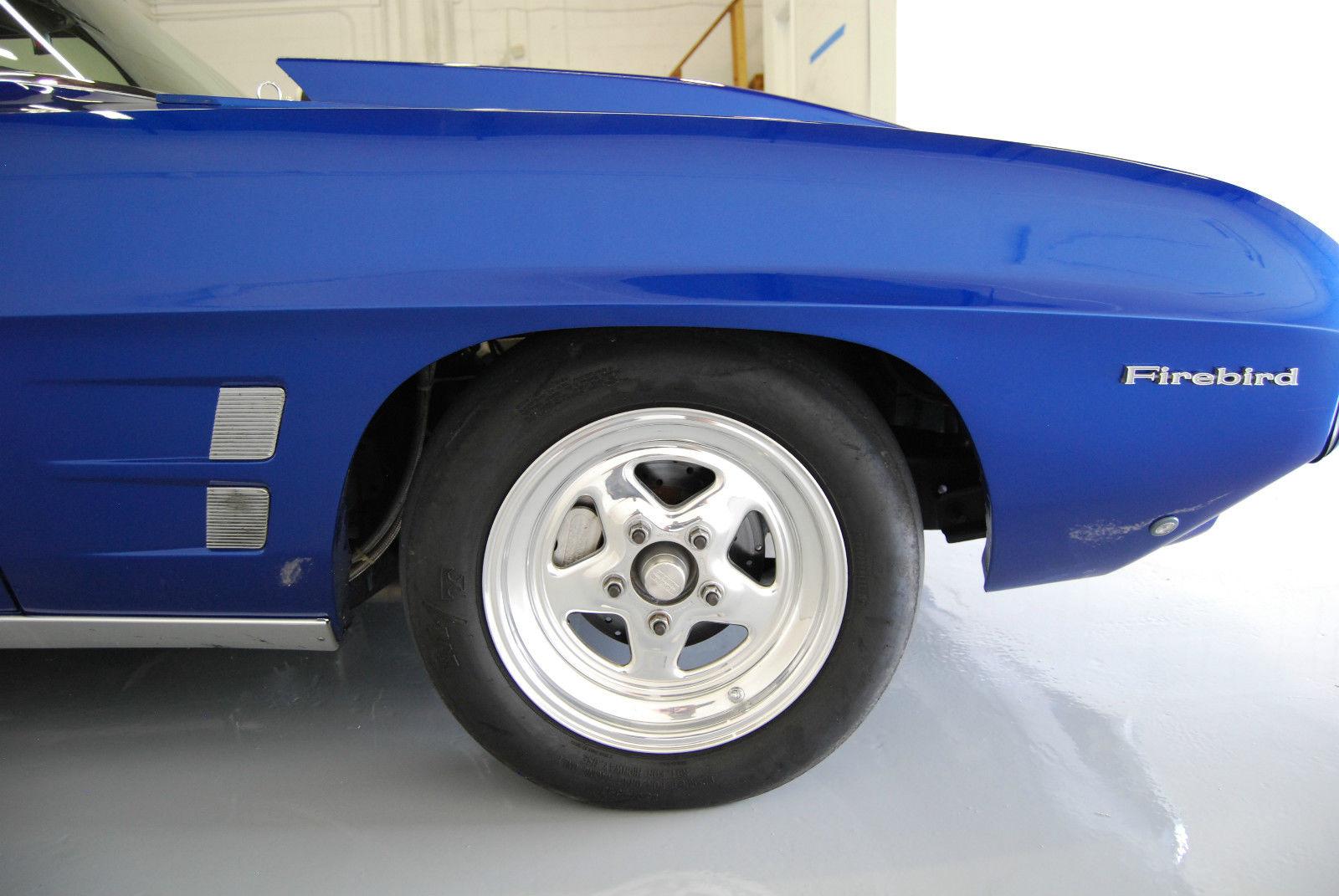 1969 Pontiac Firebird Pro Street Drag Car - Muscle Car