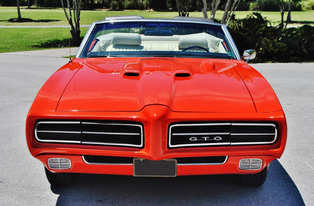 1969 Pontiac GTO Judge Tribute Convertible 4008