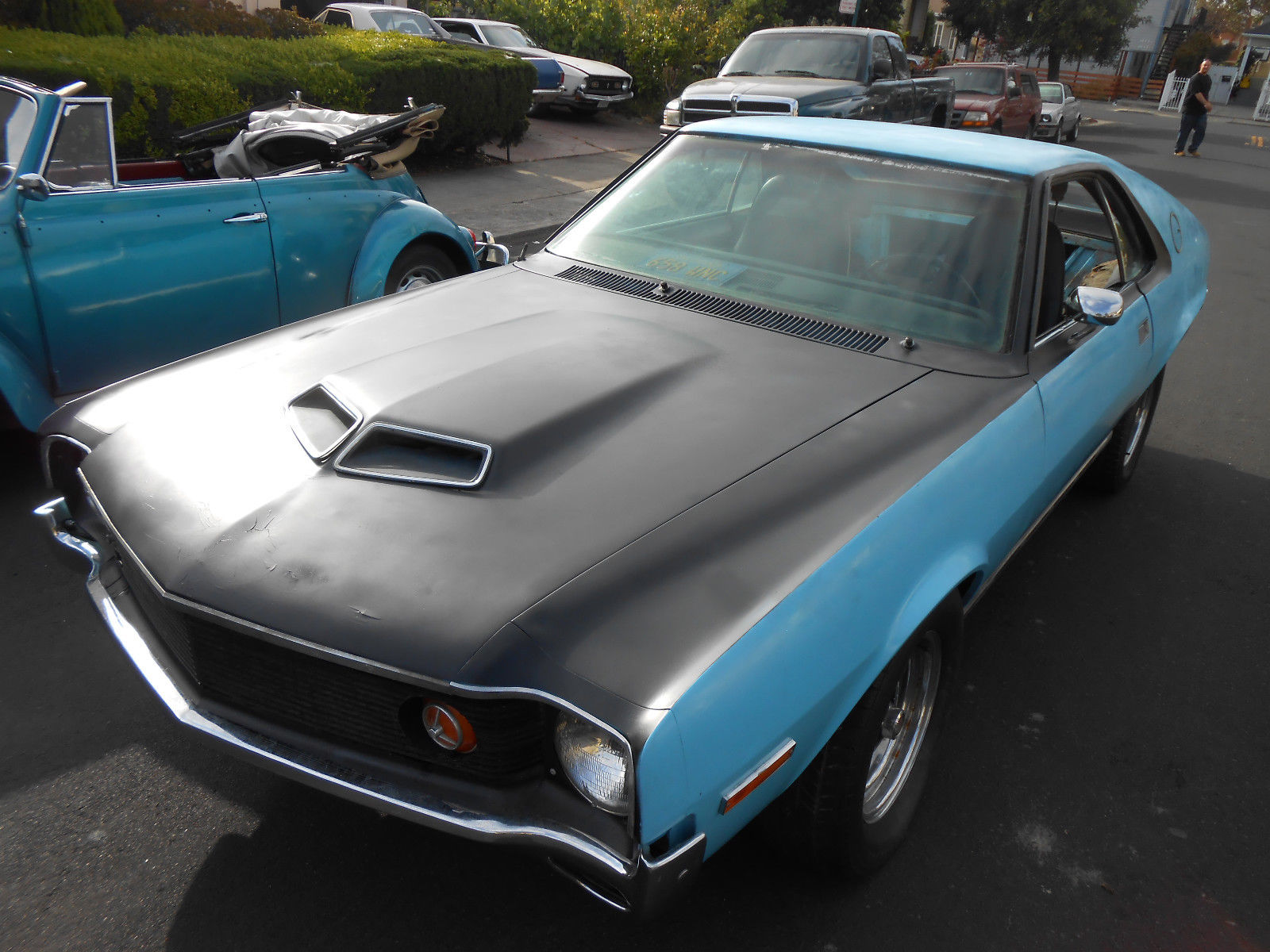 1970 AMC AMX Big Bad Blue2
