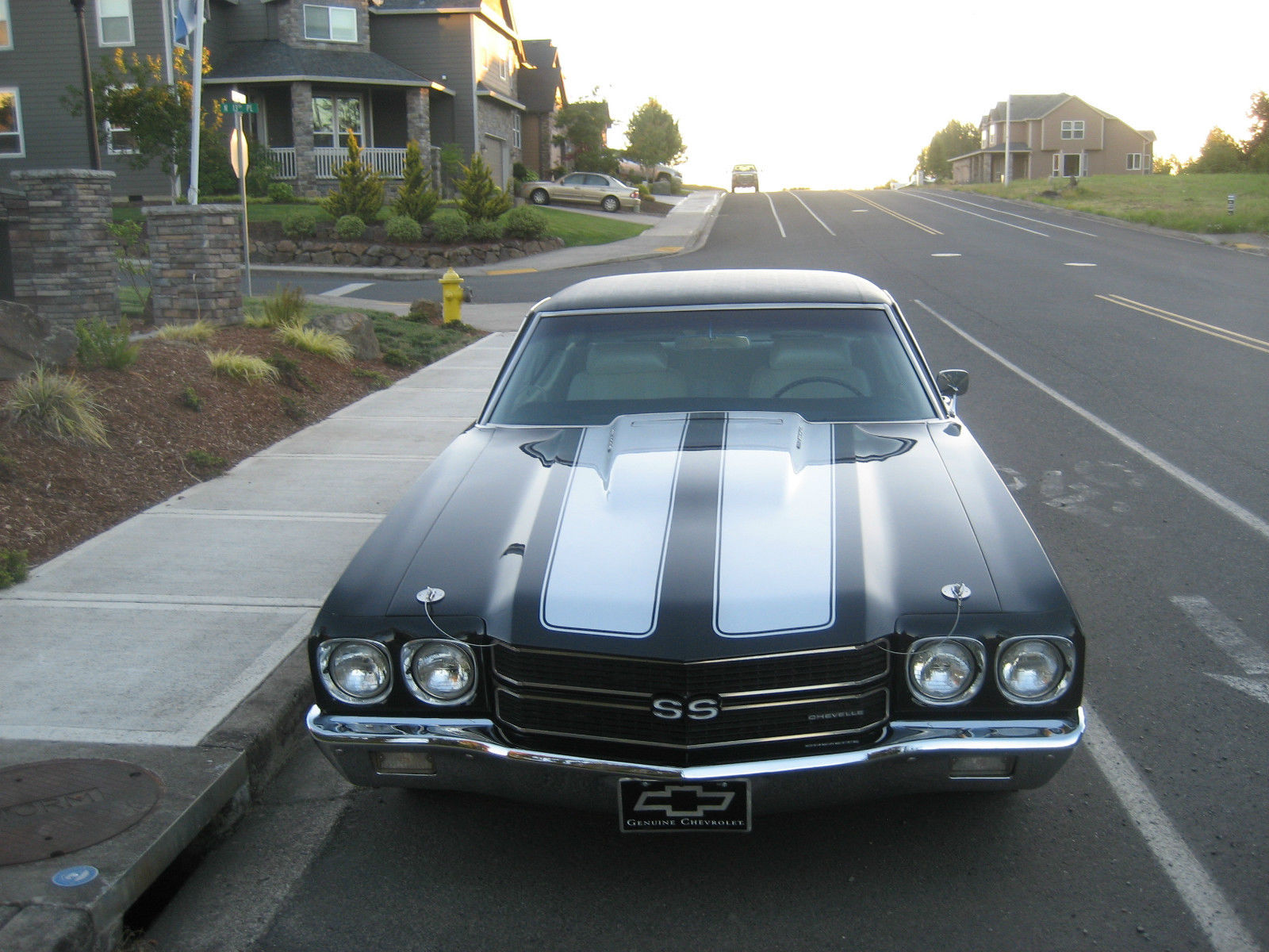 1970 chevrolet chevelle ss 396 muscle car