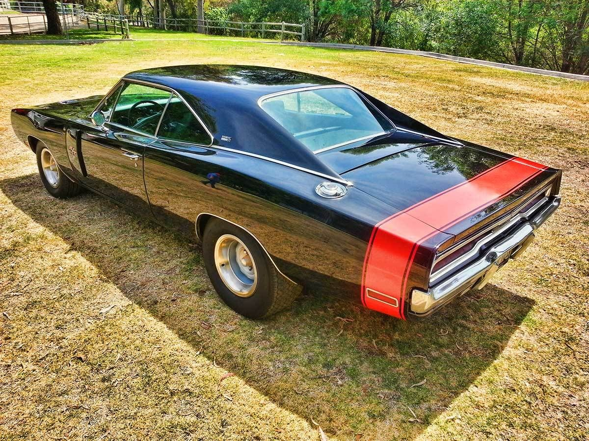 1970 Dodge Charger 440 Rt Se Special Editiontriple Black Muscle Car