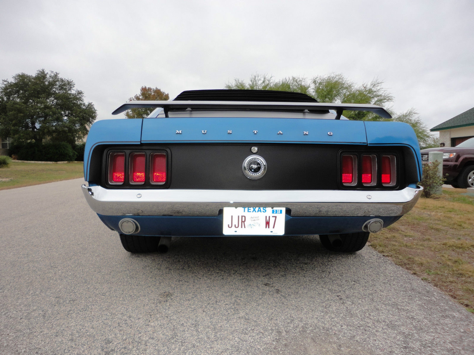 1970 Ford Mustang Boss 302 Muscle Car For Sale