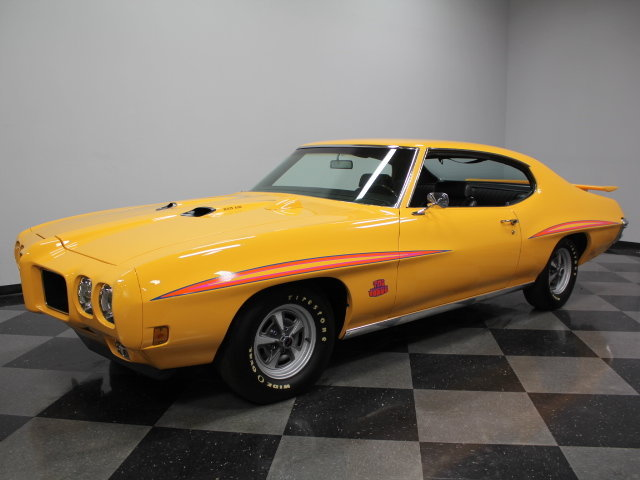 1970 Pontiac GTO Judge Orbit Orange2
