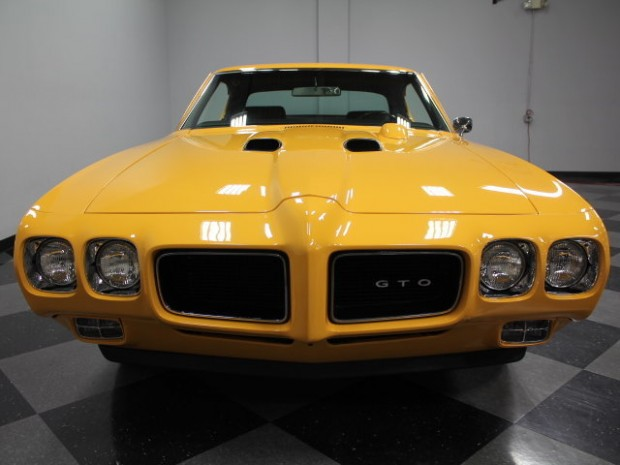 1970 Pontiac GTO Judge Orbit Orange5