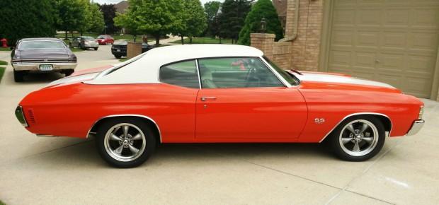 1971 Chevrolet Chevelle SS 45455