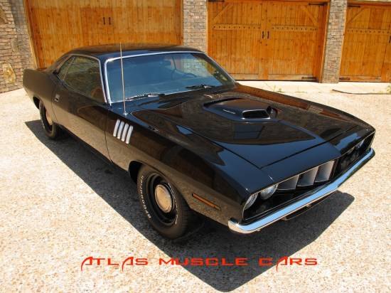 1971 Cuda 528 Hemi 4 speed, K frame off1