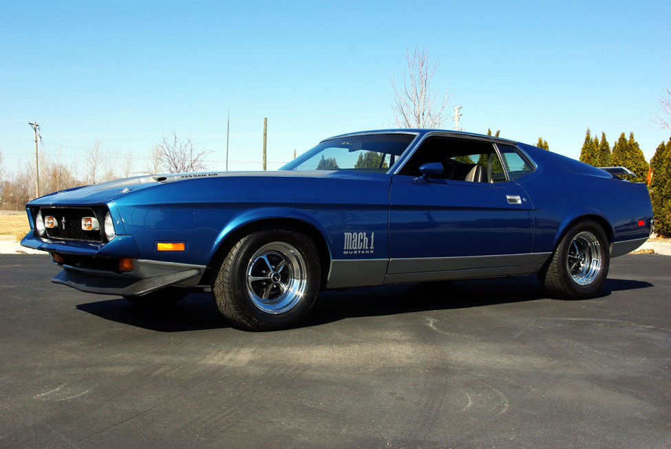 1971 ford mustang mach 1 351ci muscle car. Cars Review. Best American Auto & Cars Review