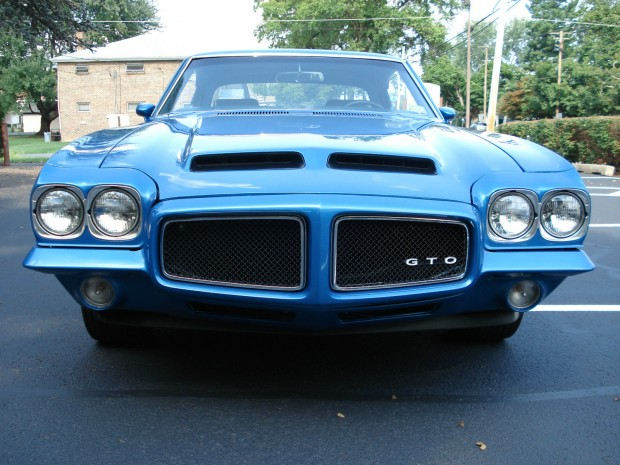 1971PontiacGTO455 HO 4-SPEED LUCERNE BLUE34t4t