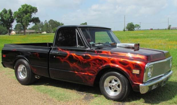 1972 Chevrolet C 10 Pro Street Pickup Muscle Car