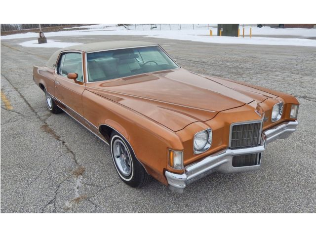 1972 Pontiac Grand Prix Model J2