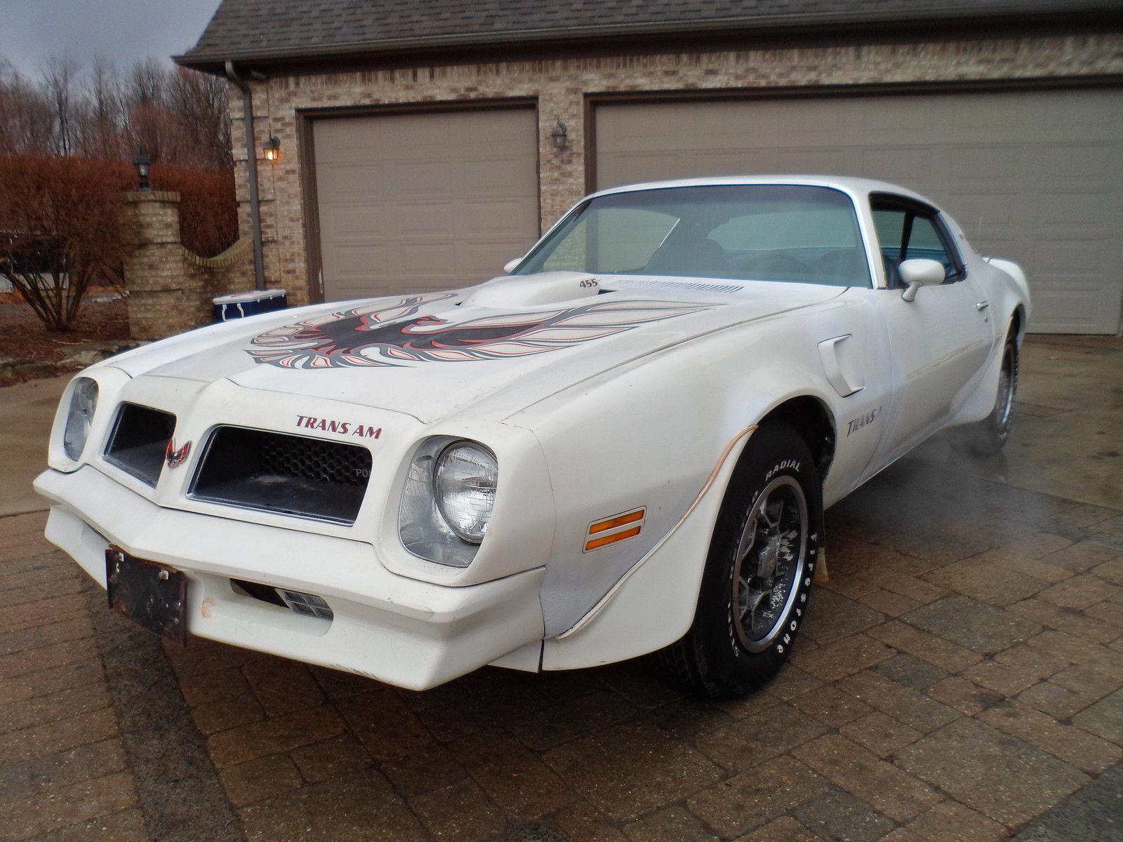 1976 Pontiac Trans Am Barn Find - Muscle Car
