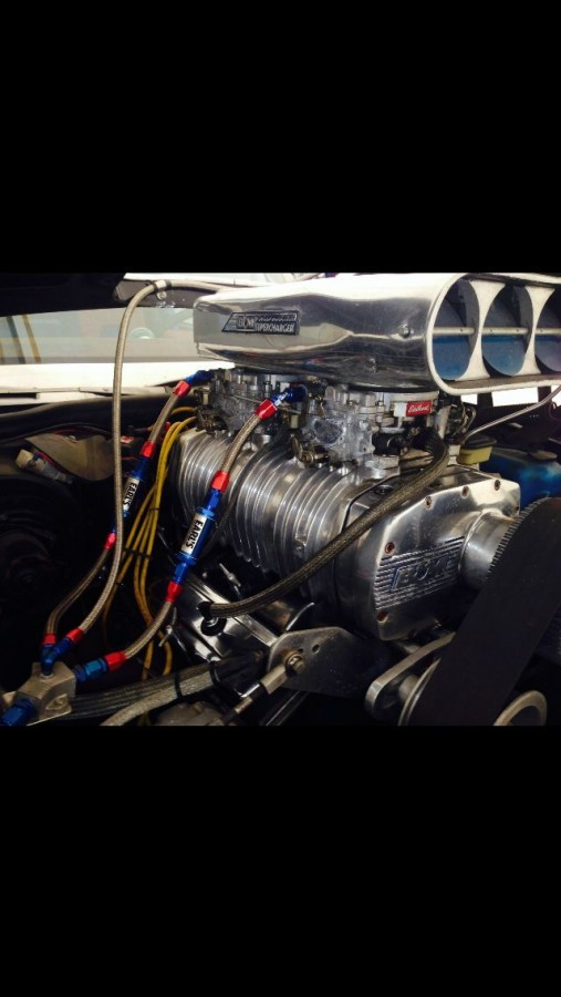 1979 Chevrolet Monte carlo SS supercharger 6-71 blower-141