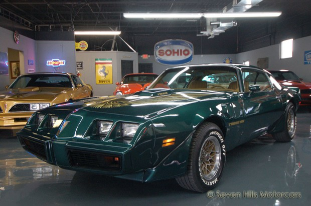 1979 Pontiac Trans Am 4 Speed WS6 400ci GreenCamel-12