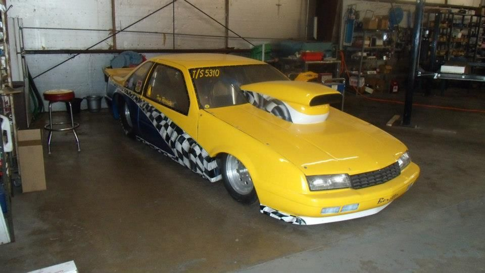 1989 BERETTA TOP SPORTSMAN RACE CAR5