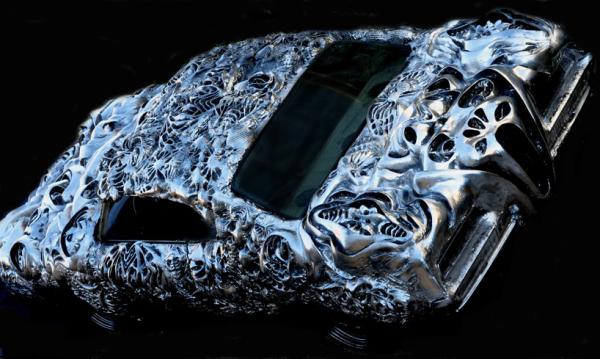 Ford Torino 3D printed liquid metal by Ioan Florea5