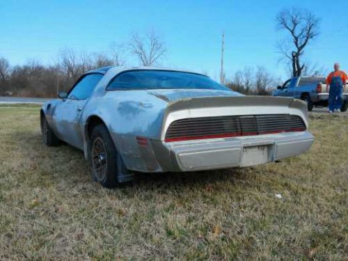 79 Pontiac Trans Am BARN FIND T Top 10th ANNIVERSARY LIMITED EDITION1
