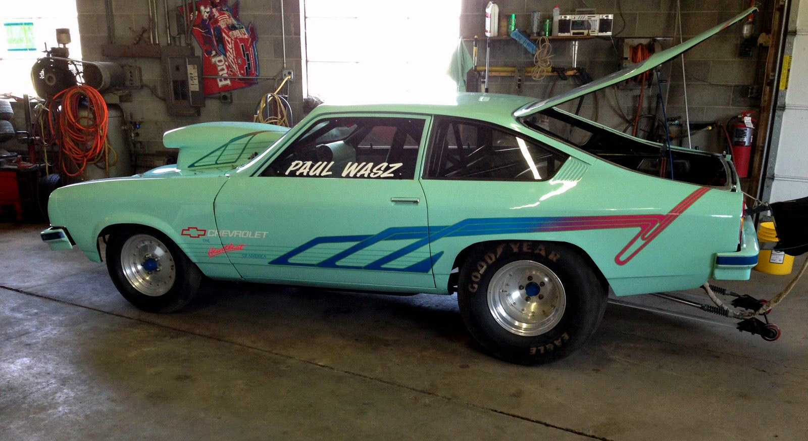 chevy vega drag race car for sale pictures. Black Bedroom Furniture Sets. Home Design Ideas