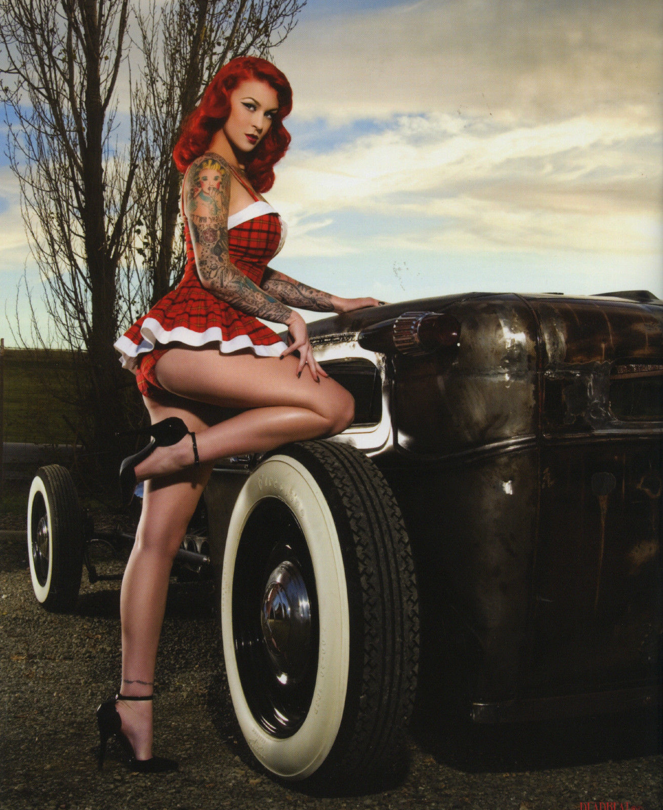 Nude Hot Rod Pinups 14