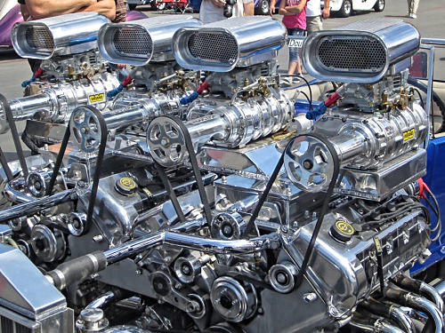 Hot Rod FOUR Superchargers2