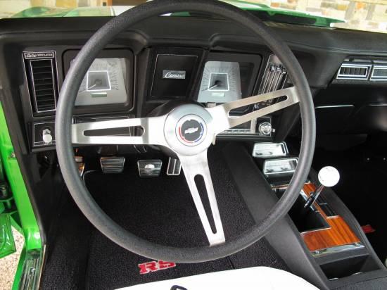 1969 Camaro RS 396 Synergy Green3