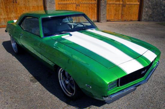 1969 Camaro RS 396 Synergy Green2