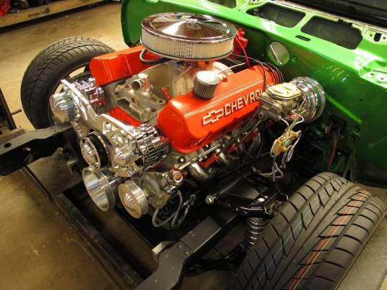 1969 Camaro RS 396 Synergy Green4