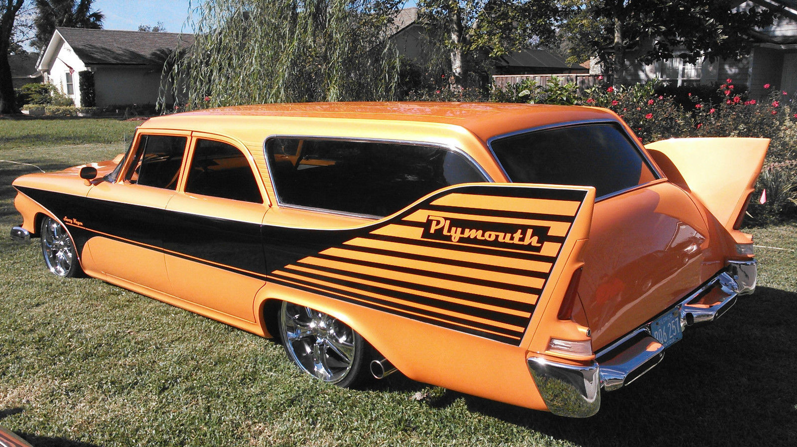Plymouth Savoy Wagon Resto Mod Muscle Car