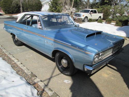 1965 Dodge Coronet 500 Super Stock Mopar Muscle Car