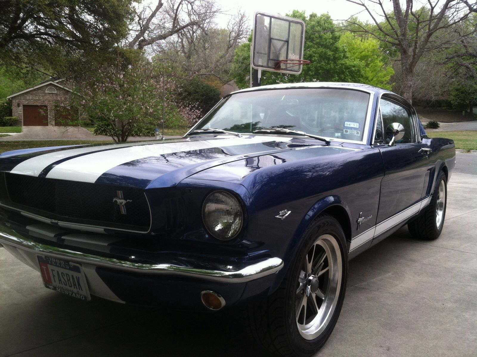 1965 Ford Mustang Fastback Shelby pro touring-122