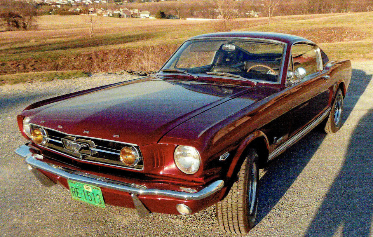 1965 Ford Mustang GT HIPO T5-11