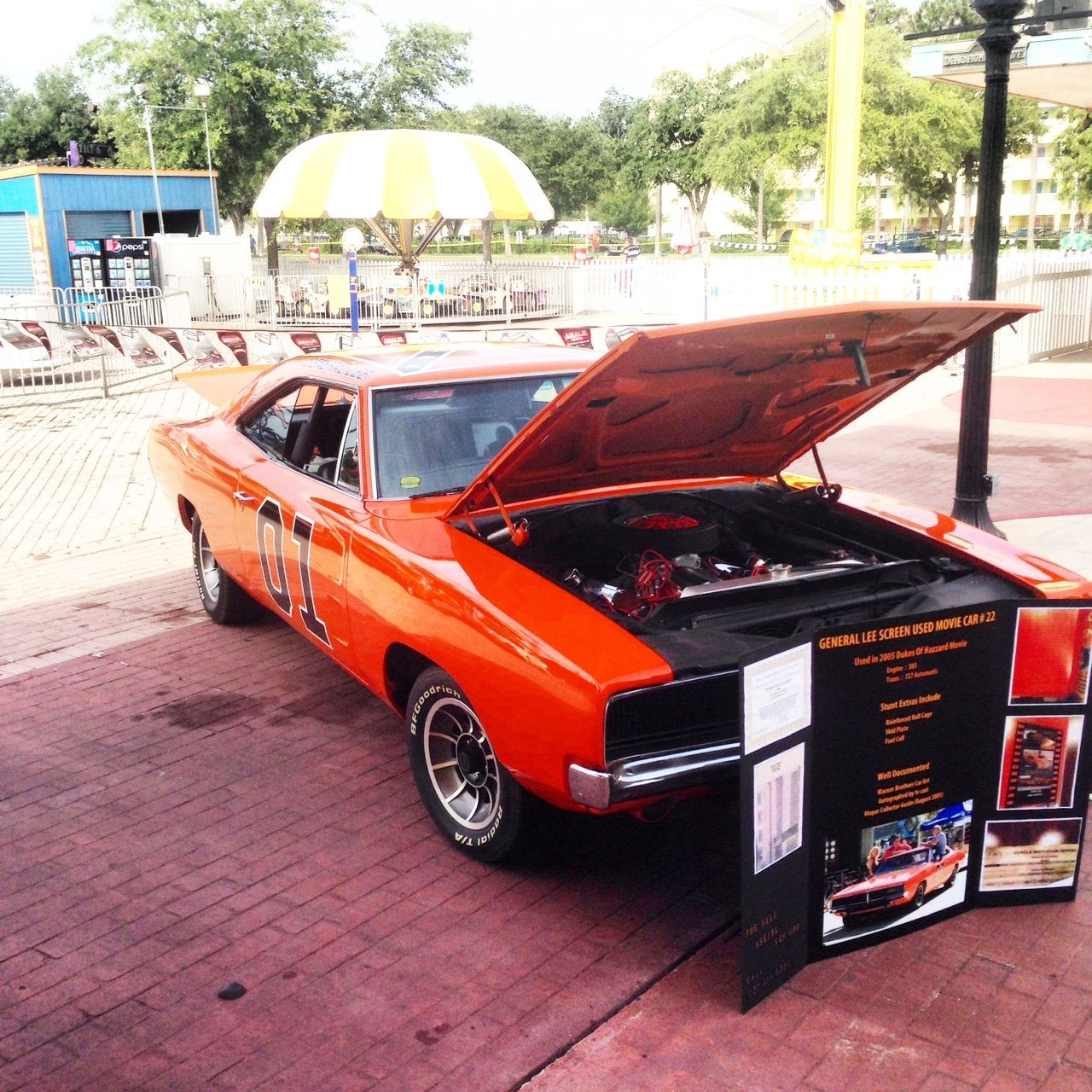 1969 Dodge Charger General Lee Movie Car Fully Documented 22 1968 17435345