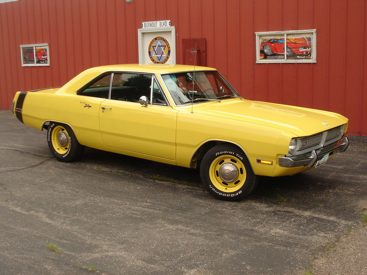 1970 dodge dart 4spd 383 muscle car